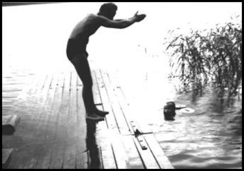 Herrgårdsbadet, Vedevågssjön