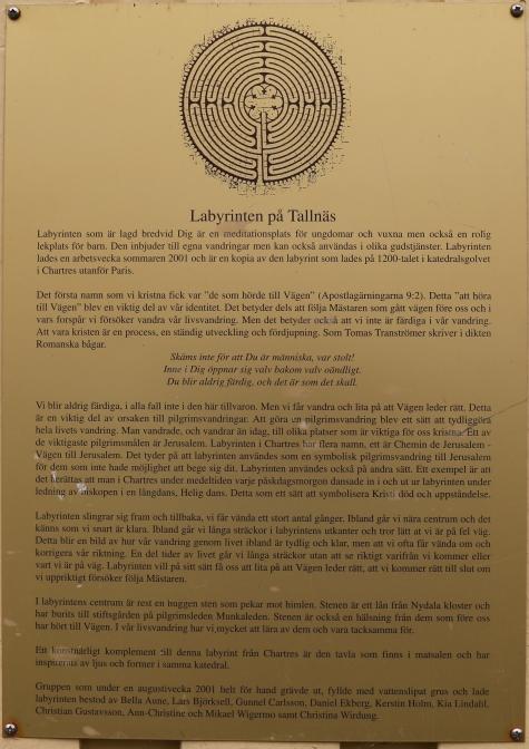 Tallnäs Stiftsgårds kapell