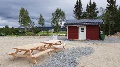Storsjö Camping,Ställplats