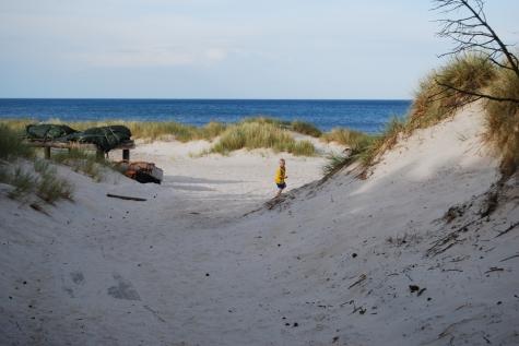 Campingkartanse Borrbystrand Camping På Väg Ner Till Stranden