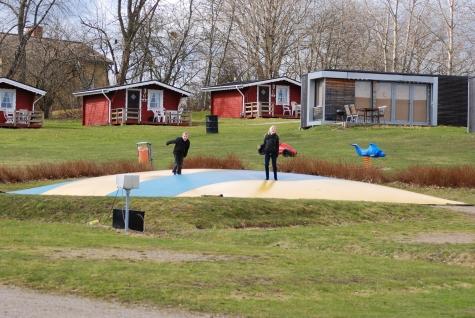 Campingkartanse Nordic Camping Röstånga Barnen Har Mycket Att