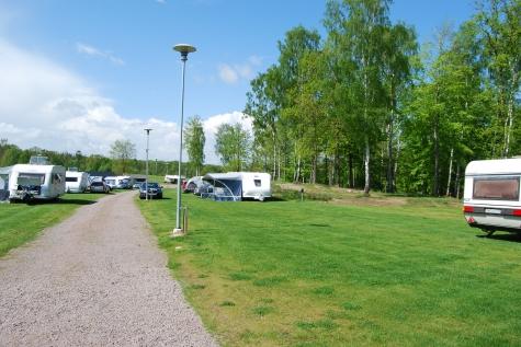 Campingkartanse Nordic Camping Röstånga Nyare Delen Invid Sjön