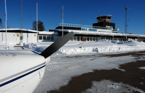 Borlänge Flygplats, Dala Airport