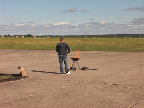Bunge flygfält, ESVB