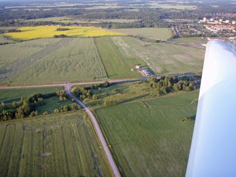 Köping (Gålby) flygfält