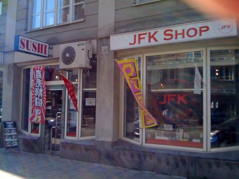 utanför affär voyeur nära Stockholm