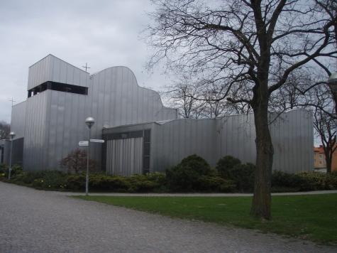 martin luthers kyrka halmstad