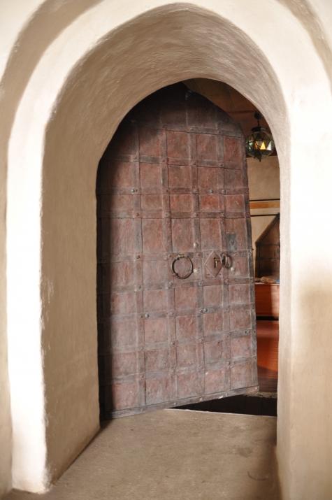 KYRKOKARTAN SE Aspö kyrka Bastant dörr till sakristian
