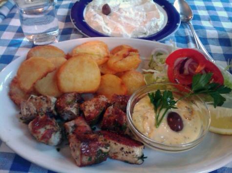 Mediterranean, Restaurang