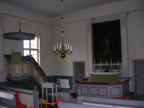 Muodoslompolo kyrka