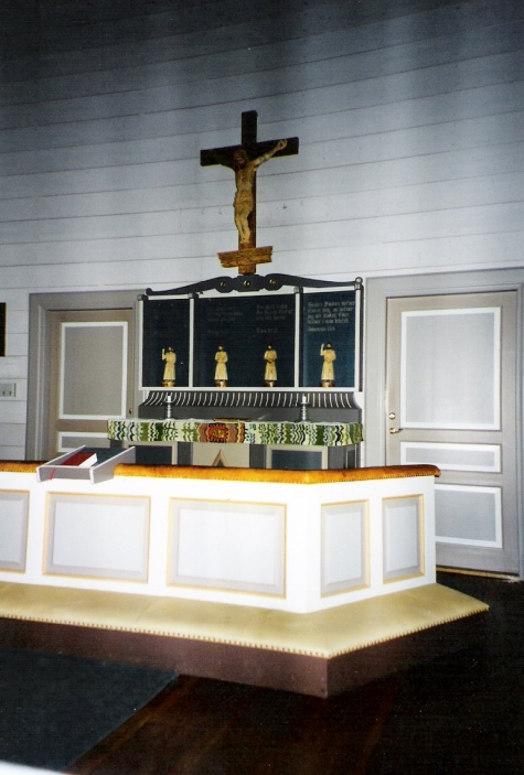 Margaretakyrkan på gammplatsen