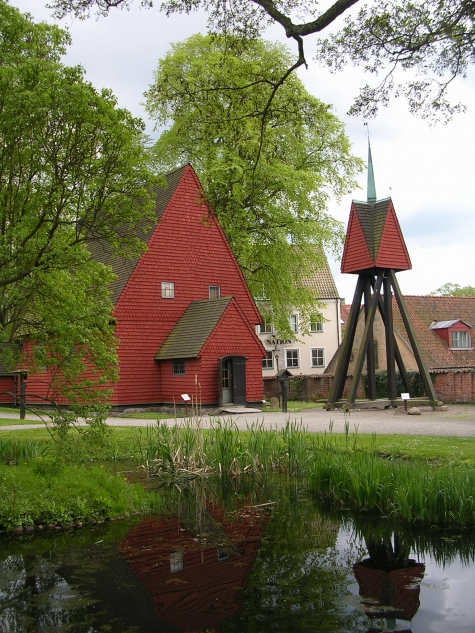 Bosebo gamla kyrka på Kulturen i Lund