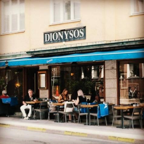 dionysos restaurang stockholm