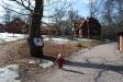 Även tidig vår (1 april) strax innan öppnandet har Färgargården sin tjusning