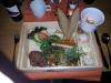 Middag i en låda ;-) vad som skanas på bilden var potatisgratängen som kom nybakad i en ansjovisburk