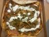 Kebabpizza med skinka