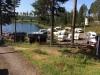 Husvagnsplatser vid badsjö