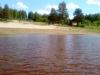 Sjönäset sett från vattnet