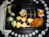 11-bitars vegetarisk sushi