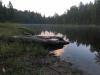 Hultasjön vid gryning