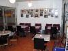 härligt stämning cafe cinema