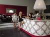 Trevligt inrett café med bra läge i Visby.
