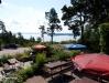 Med en härlig utsikt över Bråviken.