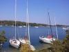 Lätt att lägga till med egen båt vid östermarsfladen