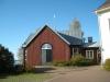 Stiftsgårdens kapell uppfördes 1980-81 efter ritningar av Jerk Alton