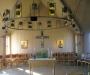 Centralt placerat altare