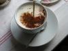 Choklad i varm mjölk = underbart god stor kopp choklad!