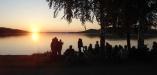 midsommarkväll på Skogsand