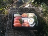 ätes förslagsvis nere i parken vid eriksdalshallen med en kall en.