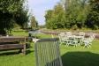 Den underbara trädgården vid kanalen
