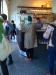 Inne på kaffebaren vid Möllevångstorget
