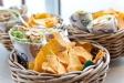 Supergoda wraps med tacochips och guacemole!