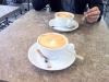 Välgjord latte.