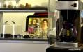 Gott kaffe och kunglig servering.