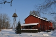 Vinterbild på kapellet.