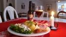 Jultallrik i Wira restaurang