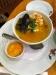 Skaldjurssoppa och chili aioli