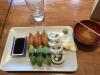 Veg sushi 10 bitar 70kr
