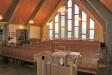 Kyrksalen sedd från predikstolen.