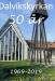 Framsida på jubileumstidning med 36 sidor information om kyrkan.