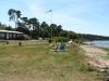 Sandhamn badplats på sydvästra Gotland
