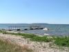Utsikt från Sadhman badplats. I bakgrunden ser man Lilla och Stora Karlsö