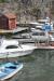 Båtar och bodar utanför Pärlan på Möja