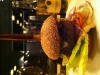 300 gram hamburgare mald på hängmörat högrev.
