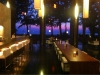 Restaurangen kvällstid.
