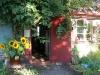 Ingången till Pumpans café och Restaurang
